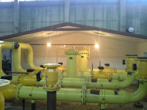 ГРПБ оснащены эффективной системой пожаротушения