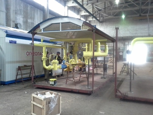 производство ГРПБ в Рязани